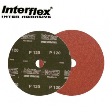 "INTERFLEX SANDING DISC AA GRADE (METAL) 4"" - 25PCS / PACK"
