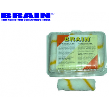 "BRAIN MINI ROLLER REFILL 4"" - 10PCS / PACK"