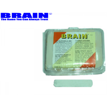 """BRAIN MOHAIR MINI ROLLER REFILL 4"""" - 10PCS / PACK"""