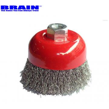 BRAIN S.STEEL WIRE CUP BRUSH