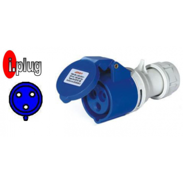 CAVICO I.PLUG IND. COUPLER (NEW) 3P 220V IP44