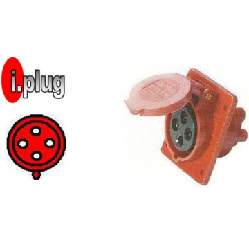 CAVICO I.PLUG IND. PANEL 4P 380V IP44 (RED/BLACK)