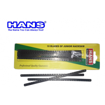 HANS JUNIOR HACKSAW BLADE ( 6'' @ 10 pcs )