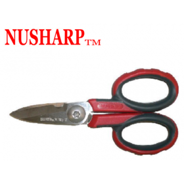 "NUSHARP ELECTRICIAN'S SHEAR ( 138mm-5.1/2"" )"