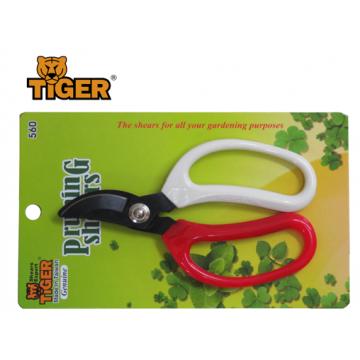 TIGER GARDEN SHEAR 560 ( Curve Tip )