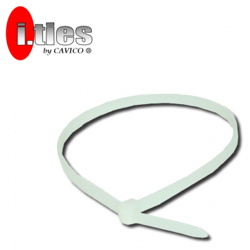 "CAVICO I.TIES CABLE TIES (WHITE) 15"" ~ 36"" - 100PCS / PACK"