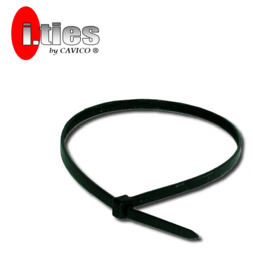 "CAVICO I.TIES CABLE TIES (BLACK) 15"" ~ 36"" - 100PCS / PACK"