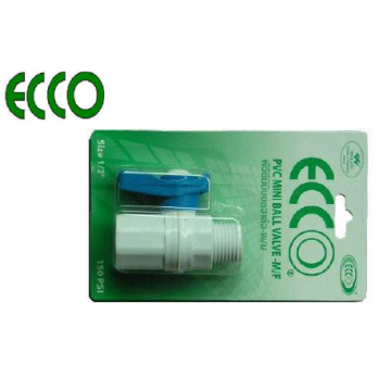 "ECCO PVC MINI BALL VALVES - 1/2"" M x F"