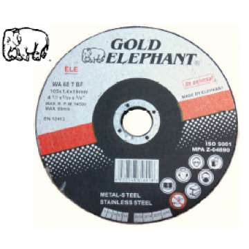 GOLD ELEPHANT DOMESTIC S.S CUTTING DISC - Grade : WA60TBF