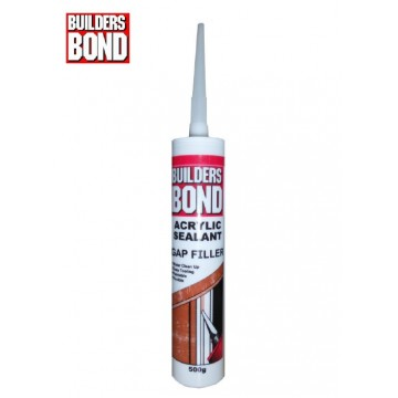 BUILDERSBOND COLORED ACRYLIC SEALANT - 280ML