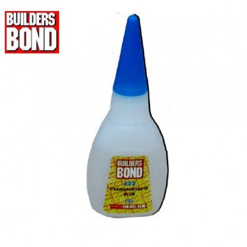 BUILDERSBOND CYANOACRYLATE GLUE 502 - 50 PCS / PACK